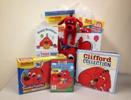 CLIFFORD'S BIRTHDAY: ENTER TO WIN PRIZE PACK!!