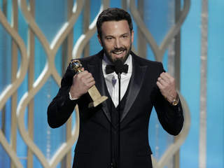 Ben Affleck wins GOLDEN GLOBES