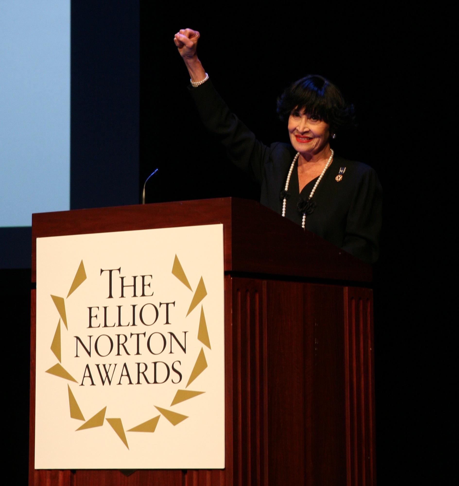 Chita Rivera Elliot Norton Awards!