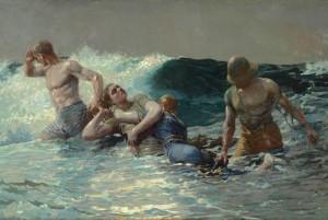 """Winslow Homer's """"Undertow"""""""