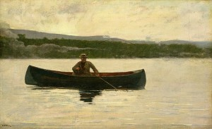 "Winslow Homer ""Playing a Fish"""