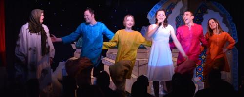"""Ryan Landry's production of """"Thoroughly Muslim Millie."""" (Michael von Redlich)"""