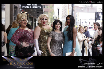 Joyce and GOLD DUST ORPHANS on the red carpet!