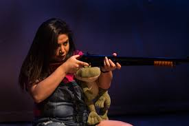 Maria Jan Carreon in Edith Can Shoot Things and Hit Them